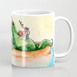 Croco Bath Coffee Mug