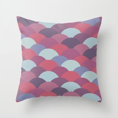 Circles Abstract 2 Throw Pillow