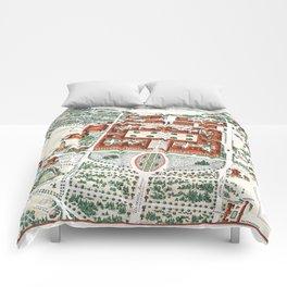 STANFORD CALIFORNIA University map Comforters