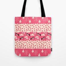 Unicorn Pink patchwork Tote Bag
