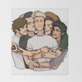 Group Hug Throw Blanket