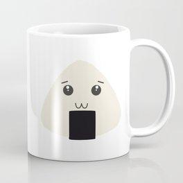 kawaii onigiri rice face Coffee Mug