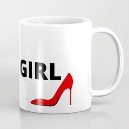 INTJ GIRL RED STILETTO Design Coffee Mug