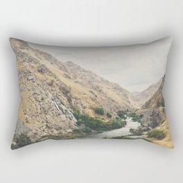 the Kern River .. Rectangular Pillow