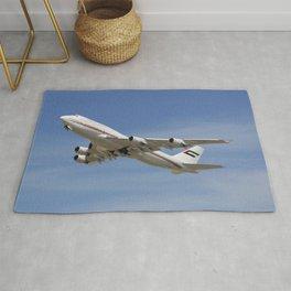 Dubai Air Wing 747-422 A6-HRM Rug