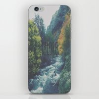 explore iPhone & iPod Skins featuring Explore by Hannah Kemp