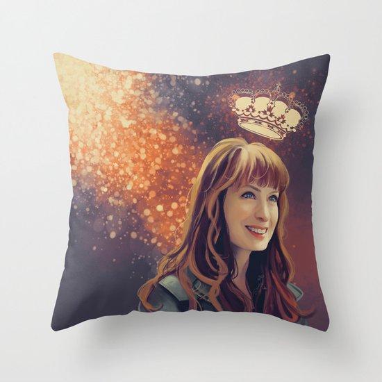 charlie Bardbury - Supernatural Throw Pillow