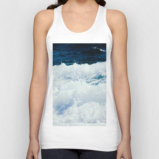 Ocean Waves Unisex Tank Top
