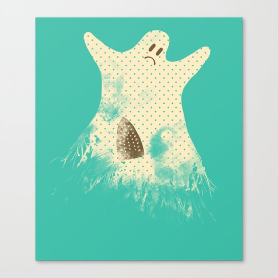I Used to Be Scarier Canvas Print