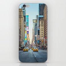 Sunset on 7th Avenue iPhone & iPod Skin