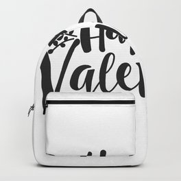 Hand Lettering Happy Valentines Backpack