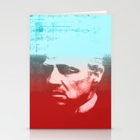 godfather Stationery Cards featuring GODFATHER - Do I have your Loyalty? by Bright Enough💡