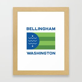 Bellingham, Washington Framed Art Print