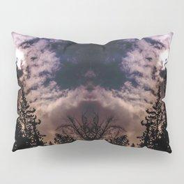 Sky & trees Pillow Sham