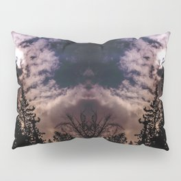 Sky & trees Pillow Sham