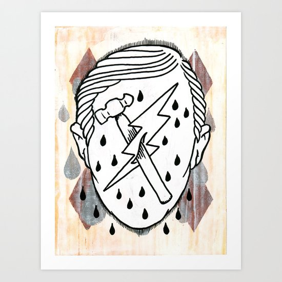 This is Fred, he's an Epic Lad. Art Print