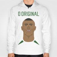ronaldo Hoodies featuring Ronaldo 2002 - O Original by Patrick Design