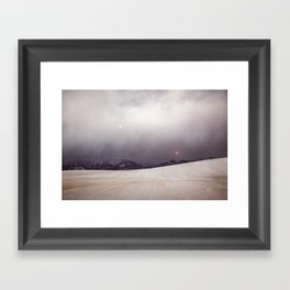 Explorations with Space: No. 6 Framed Art Print