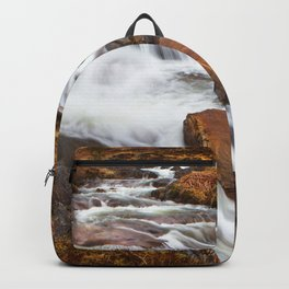 Scottish Falls. Backpack