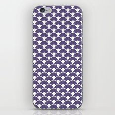 Dragon Scales Deep purple iPhone & iPod Skin