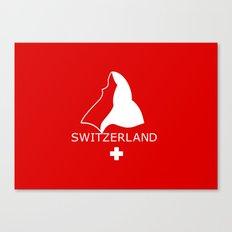 Switzerland and Matterhorn Canvas Print