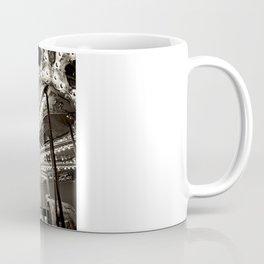 Carousel in B&W Coffee Mug