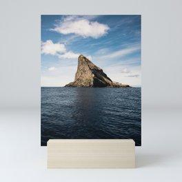 Sea rock Mini Art Print