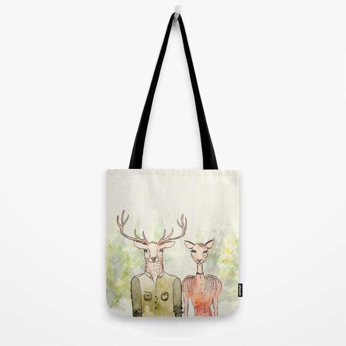 Together in Happy Land Tote Bag
