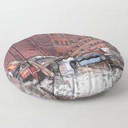 Demolition Floor Pillow