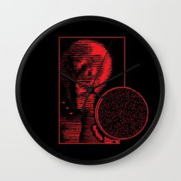 The Voice of God Wall Clock