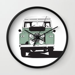 Land Rover Series IIa Wall Clock