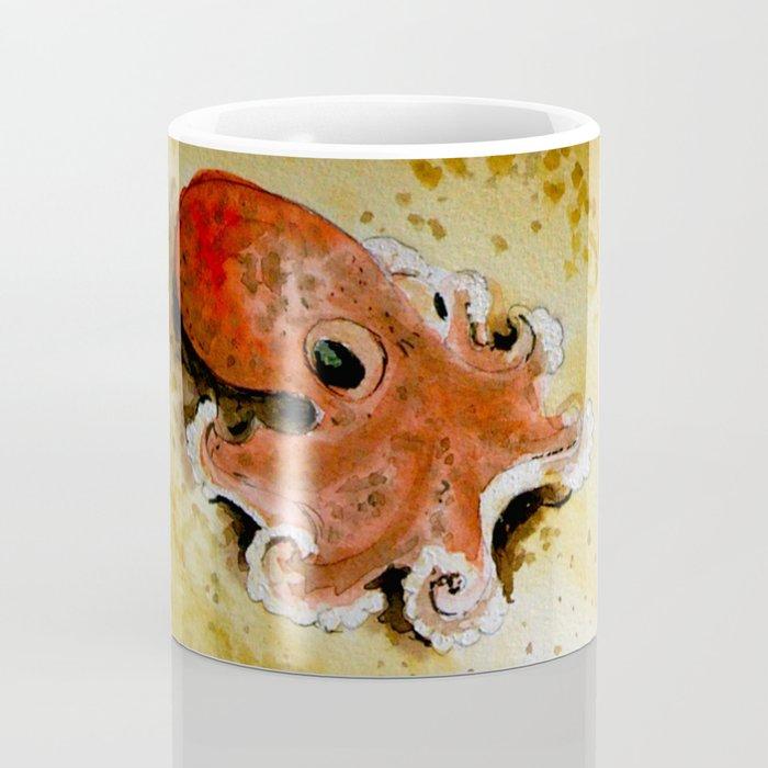 small octopus Coffee Mug