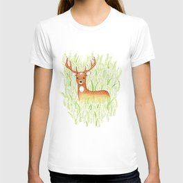 in the grass T-shirt