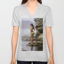 [ BIODIVERSE.CO ] Colombian Exotic Sexy Girl Unisex V-Neck