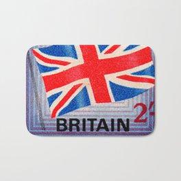 British War Savings Stamps Bath Mat