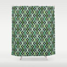 Op Art 157 Shower Curtain