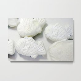 60pieces Fish-shaped Pancakes Metal Print