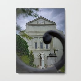 Salvation Isn't Always Where You'd Expect It Metal Print