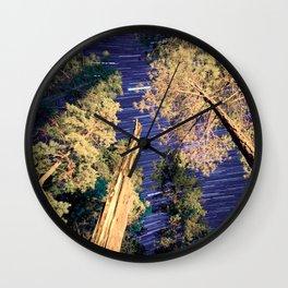 Startrails Wall Clock