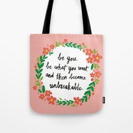 Unbreakable Tote Bag