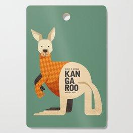 Hello Kangaroo Cutting Board