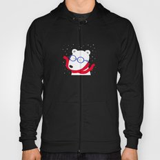 Hipster Polar Bear Hoody