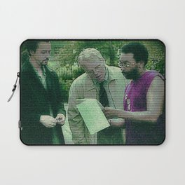 A Script For Ed & Philip By A Spike Laptop Sleeve