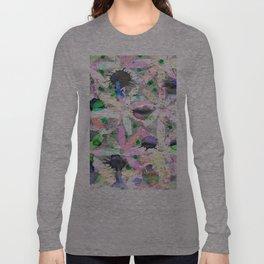 Watercolor abstract Long Sleeve T-shirt