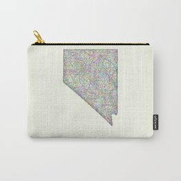 Nevada map Carry-All Pouch