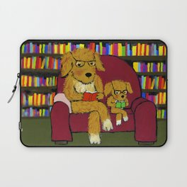 Reading dogs Laptop Sleeve