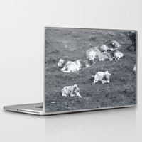 cows Laptop & iPad Skins featuring Cows by Mr and Mrs Quirynen