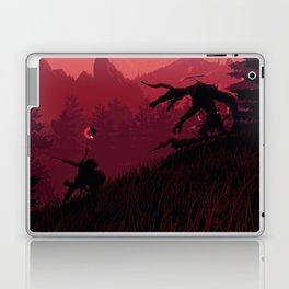 Under A Blood Moon Laptop & iPad Skin