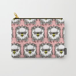 Be the Queen Bee! - Ornamental Line Art Carry-All Pouch