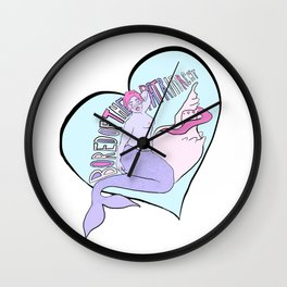 Bored of the Patriarchy Wall Clock